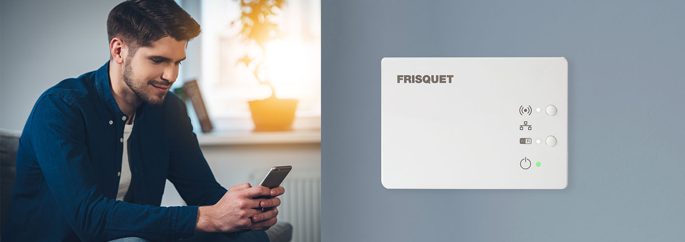 frisquet connect. Black Bedroom Furniture Sets. Home Design Ideas